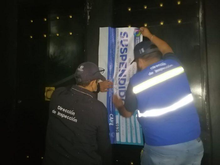 Municipio de Querétaro genera 20 actas y tres clausuras a comercios por incumplir norma