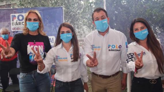"""""""ESTAMOS CERCA DE CONSTRUIR UN ESCENARIO GANADOR PARA LAS MUJERES"""": POLO BÁRCENAS."""