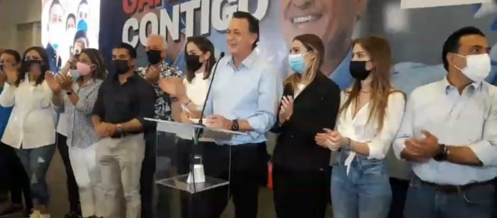 Mauricio Kuri asume compromiso de gobernar Querétaro
