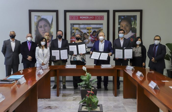UAQ firma convenio con grupo farmacéutico para desarrollar vacuna antiCOVID