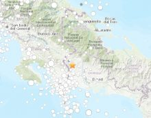 Reportan fuerte sismo en Panamá