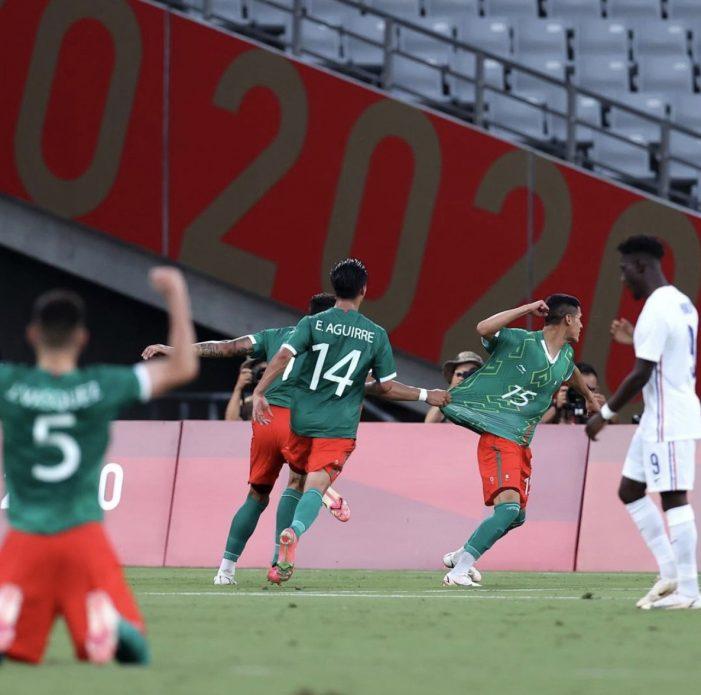 México debuta en Tokio 2020 con goleada de 4-1 sobre Francia