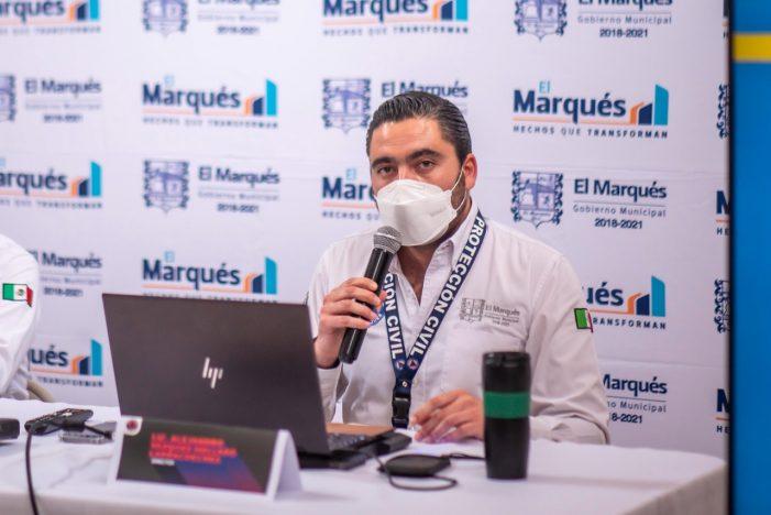 PC de El Marqués presenta el primer Sistema de Alertamiento Temprano del estado