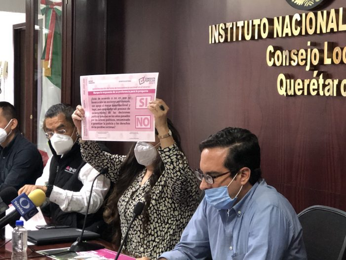 INE-Querétaro se declara listo para la consulta popular