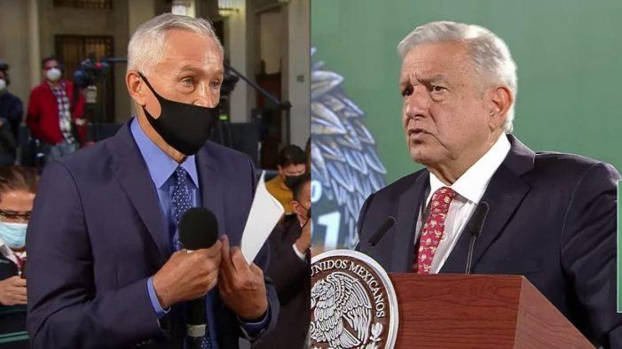 """Jorge Ramos y AMLO contrastan datos en la """"mañanera"""""""