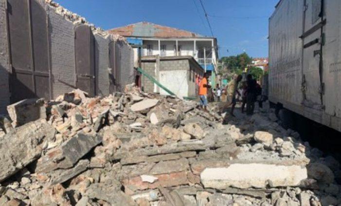 Terremoto de 7.2 grados sacude Haití