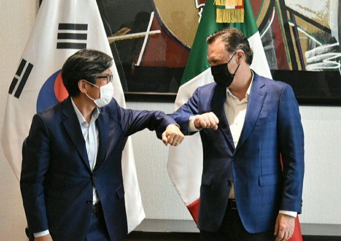 Querétaro y Corea harán sinergia: Kuri González