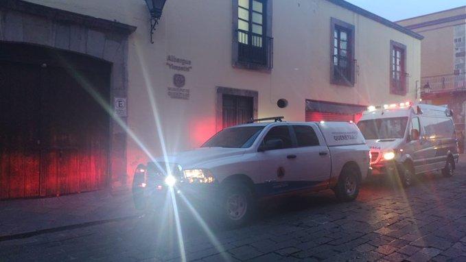 Muere una personal al interior de albergue en Querétaro