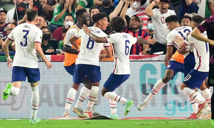 Estados Unidos vence 1-0 a México y es campeón de la Copa Oro
