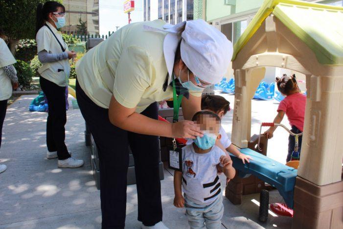 IMSS Querétaro llama a extremar cuidados en niños durante la pandemia por COVID-19