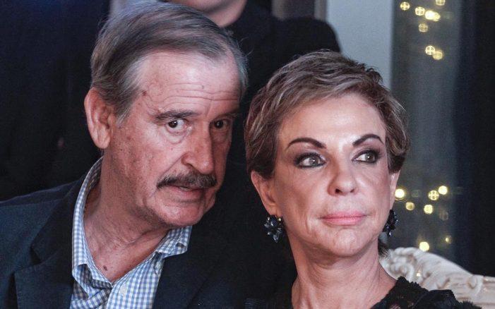 Vicente Fox y su esposa Marta ya superaron el COVID-19
